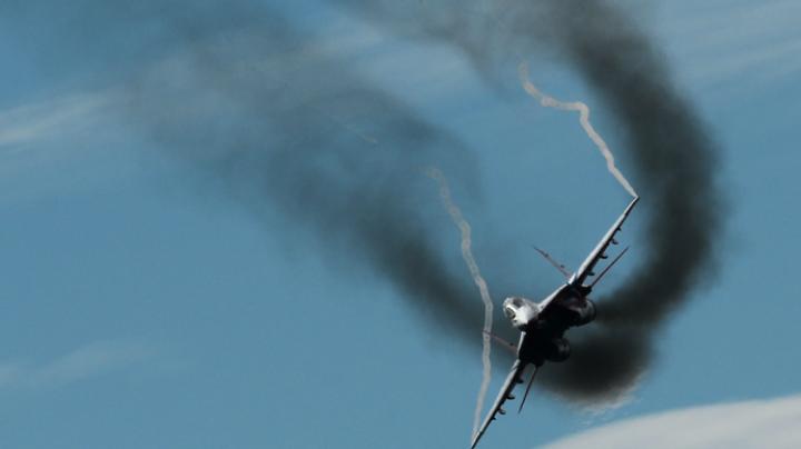 Российский военный самолет рухнул в Средиземное море возле берегов Сирии