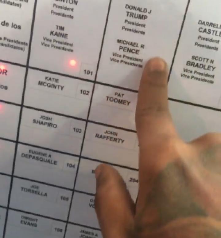 Восстание машин: жителю Пенсильвании терминал не дал проголосовать за Трампа