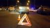 Дети с санками попали под колеса автомобиля в Киеве
