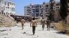 Сирийская армия приостановила боевые действия в восточном Алеппо