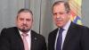 Министр иностранных дел Андрей Галбур встретился с Сергеем Лавровым