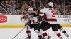"""На матче """"Ванкувер"""" - """"Нью-Джерси"""" хоккеисты подрались прямо на льду"""
