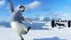Живые пингвины стали участниками церемонии открытия чемпионата России по фигурному катанию