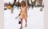 Жительница России всю зиму ходит в летней одежде и легкой обуви