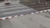Шлагбаум в чешском городе Раец-Йестреби здорово потрепал нервы водителю