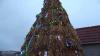 Житель села Хечул Векь Сынжерейского района сделал соломенную ёлку
