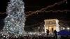 В центре Кишинева зажгли главную елку страны (ФОТОРЕПОРТАЖ)