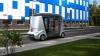 Медведеву показали беспилотный автобус MatrЁshka