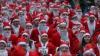 Жители Литвы приняли участие в марафоне Санта-Клаусов в поддержку детей-сирот