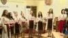 Детские коллективы из Кишинёва и Криулянского района колядовали сегодня в столичной мэрии