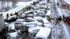 Масштабная авария с участием 40 автомобилей в американском Мичигане из-за гололеда