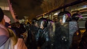 Польская оппозиция обвинила полицию в применении слезоточивого газа