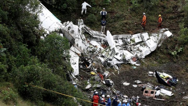 Выживший в авиакатастрофе в Колумбии рассказал о последних минутах лайнера