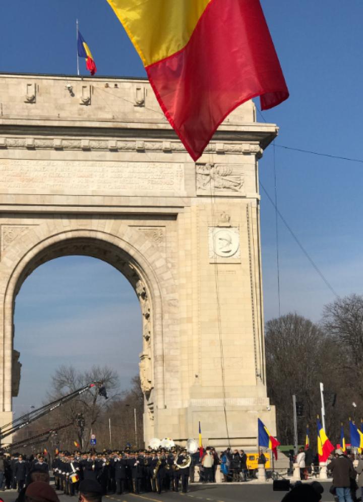 Фоторепортаж с парада в Румынии