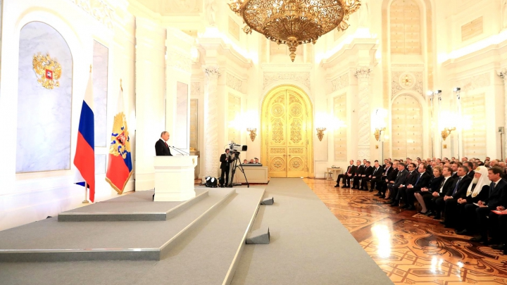 Владимир Путин в 13 раз выступил с посланием к Федеральному собранию