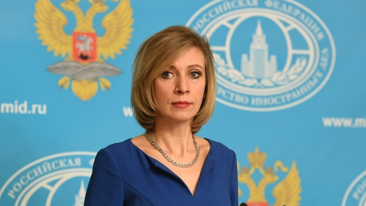 Официальный представитель МИД РФ Мария Захарова госпитализирована в Москве
