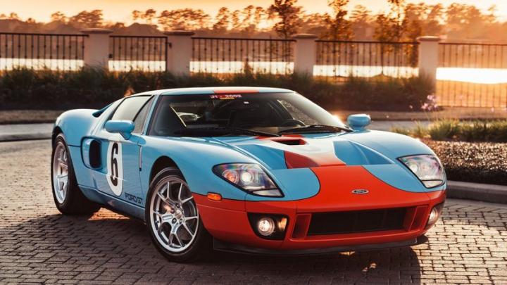 Первый функциональный прототип спорткара Ford GT выставлен на аукцион