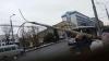 Власти выясняют обстоятельства падения электрического столба на улице Владимиреску