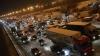 На юге Москвы образовалась пробка в 11 км после крупного ДТП