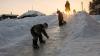 На Урале следователи проверяют информацию об опасной ледяной горке