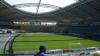 Обрушение крыши стадиона во время матча в Чехии попало на видео