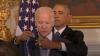 Вице-президент США Джо Байден заплакал перед Обамой