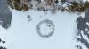 Изобретатель из Хельсинки превратил льдину в карусель