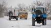 Московские коммунальщики имитировали уборку снега на тракторах с ГЛОНАСС