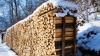 В последние несколько дней резко вырос спрос на дрова и уголь