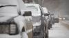 Метель в Комрате серьёзно нарушила дорожное движение