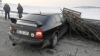 Страшная авария в Дондюшанах: автомобиль врезался в телегу