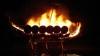 Сын исполнил просьбу отца сжечь его останки на лодке по обычаям викингов