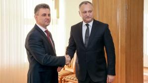 Главы Молдовы и Приднестровья провели первую за восемь лет встречу