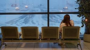 Сильный снегопад в Японии привел к отмене более 140 авиарейсов