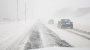 Трасса в районе Одессы перекрыта в связи со снежной бурей