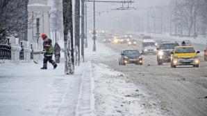 Снегопад и метель в Молдове предрекают метеорологи