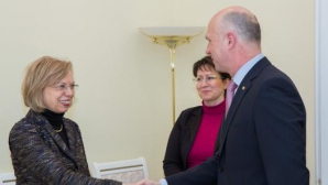 Премьер Павел Филип встретился с послом Германии Ульрике Кноц