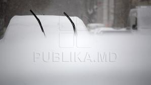 Молдова под снегом: где самые высокие сугробы
