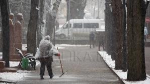 У коммунальных служб денег хватает только на уборку снега с проезжей части