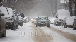Сильнейшая метель обрушилась на Молдову: ситуация на дорогах