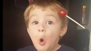 Реакция малыша, нашедшего чупа-чупс в своих волосах покорила пользователей Сети