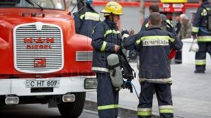 Пожар на Буюканах: первое видео с места происшествия