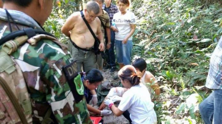 В Таиланде крокодил покусал пытавшуюся снять селфи французскую туристку