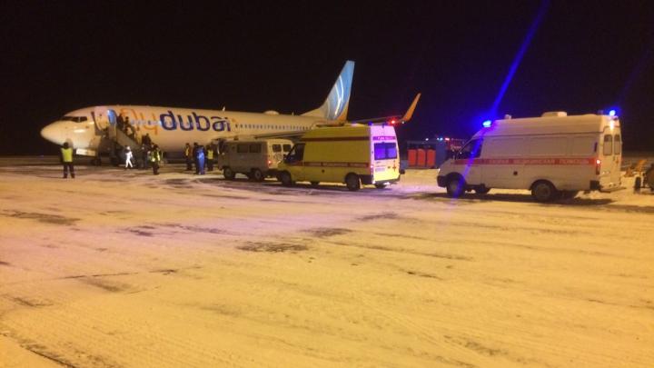 В Челябинске совершил вынужденную посадку самолет Flydubai