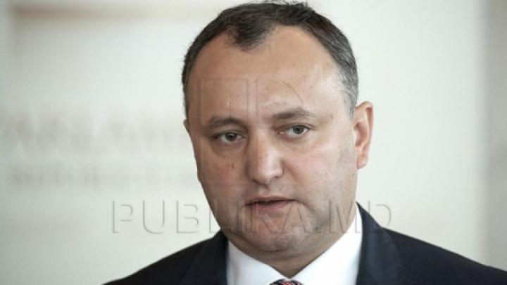 Либеральная партия намерена инициировать отставку президента Игоря Додона