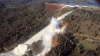 Разрушение крупнейшей плотины в США: новые кадры с воздуха