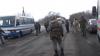 Стычка полиции с организаторами блокады на Донбассе