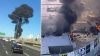 На торговый центр в Австралии рухнул легкомоторный самолёт: есть погибшие