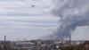 В сеть попало видео с места мощного взрыва в Донецке