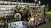 На карнавале в Рио обрушилась платформа с танцорами самбы